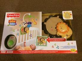 Fisher price baby zoo cot mobile