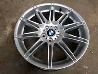 """Genuine 19"""" bmw mv4 alloy REAR!!"""