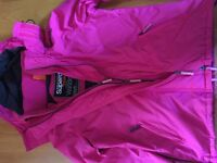 LADIES SUPERDRY PINK WINDCHEATER