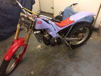 Aprilia 290 climer trials bike