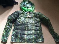 Fancy Dress Boys 5-6-7 yr Ninja Turtle Super Hero outfit clothes bundle Top with sound