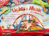 Tiny Love 3 D music and lights baby activity gym-mat
