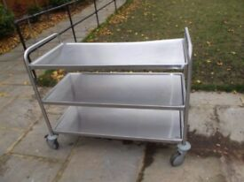 2 Catering Trolleys