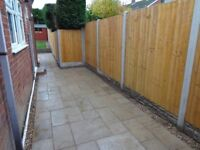 SPECIAL OFFER material & fitting: 11x concrete post 10x gravel board 10x feather edge panel