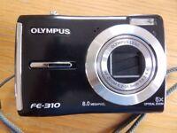Olympus FE310 Compact Digital Camera - pocket size.