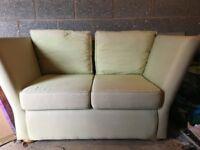 2 Seater High Arm Sofa