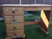 Childrens Desk and Draws
