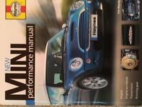 The New Mini Performance manual