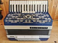 Weltmeister Cordal, REDUCED IN PRICE, 80 Bass, 3 Voice (LMM), Piano Accordion. Lessons Available.