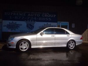 2003 Mercedes-Benz AMG S55 Leather Sunroof!