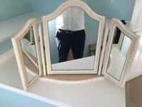 Folding Make Up Mirror