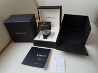 TAG Heuer Grand Carrera Calibre 17 RS 43mm Titan black CAV518B FC6237 Automatic Watch