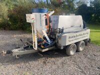 Mobile Wet/Dry Abrasive Blasting Machine - Multi abrasives - Soda, Garnet, Sand..., ...