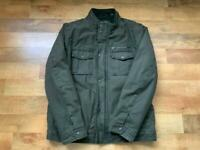 ****REDUCED FOR QUICK SALE****As New Men's Khaki Green Levi's Military Style Jacket