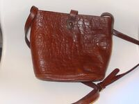 Mulberry Croc Print Bag