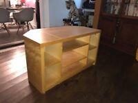 Veneer Wood TV Cabinet