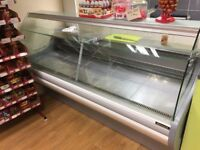 refrigerated serve over display counter