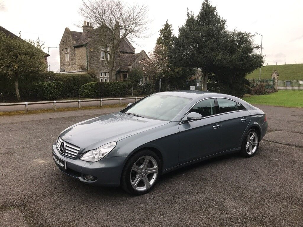 Mercedes Benz Cls 55 Cls500 7g Tronic 4dr Auto Grey 2006 In 500
