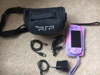 Sony PSP 3003 Hannah Montana Slim Lite Lilac Limited Edition Portable Console