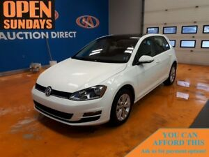 2015 Volkswagen Golf 2.0 TDI DIESEL SUNROOF! LEATHER!