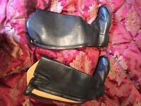 Woman's Saxon horse riding boots, size 6