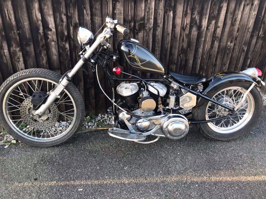 1954 45 Harley Davidson Flathead 750cc Motorcycle In Astley Manchester Gumtree