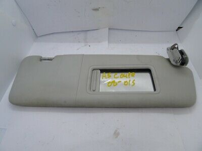 *AUDI A5 8T 2008-2011 GREY DRIVER RIGHT SUN VISOR WITH LOOM 8K0857552