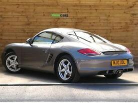Porsche Cayman 2.9 2dr PDK STUNNING EXAMPLE (graphite grey metallic) 2010