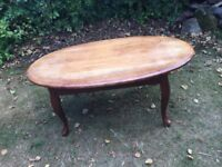Coffee table, French style. REDUCED £18.00 ONO