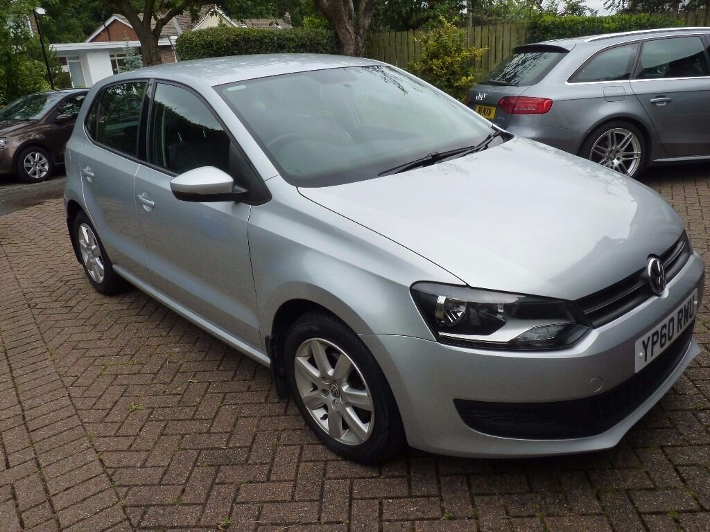 low mileage vw polo 1 2 60 plate 2010 silver in sheffield south yorkshire gumtree. Black Bedroom Furniture Sets. Home Design Ideas