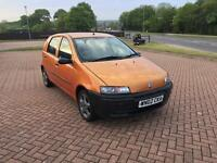 Fiat Punto low mileage years mot first car cheap