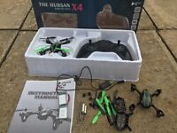 Hubsan x4 mini video drone