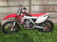 2014 crf 450 muscle milk