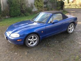 Mazda MX5 MK2 10th Anniversary Edition 1.8l 1999 New MOT MX-5