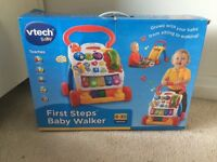 Vtech baby walker - like new with box!!