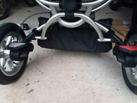 Quinny buzz has adapters raincovers parasol good condition, collection or local delivery