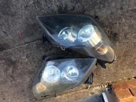 Astra h headlights