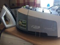 New in Box Morphy Richards Steam Pro Iron with attachments.PRICE REDUCED 6/12/16