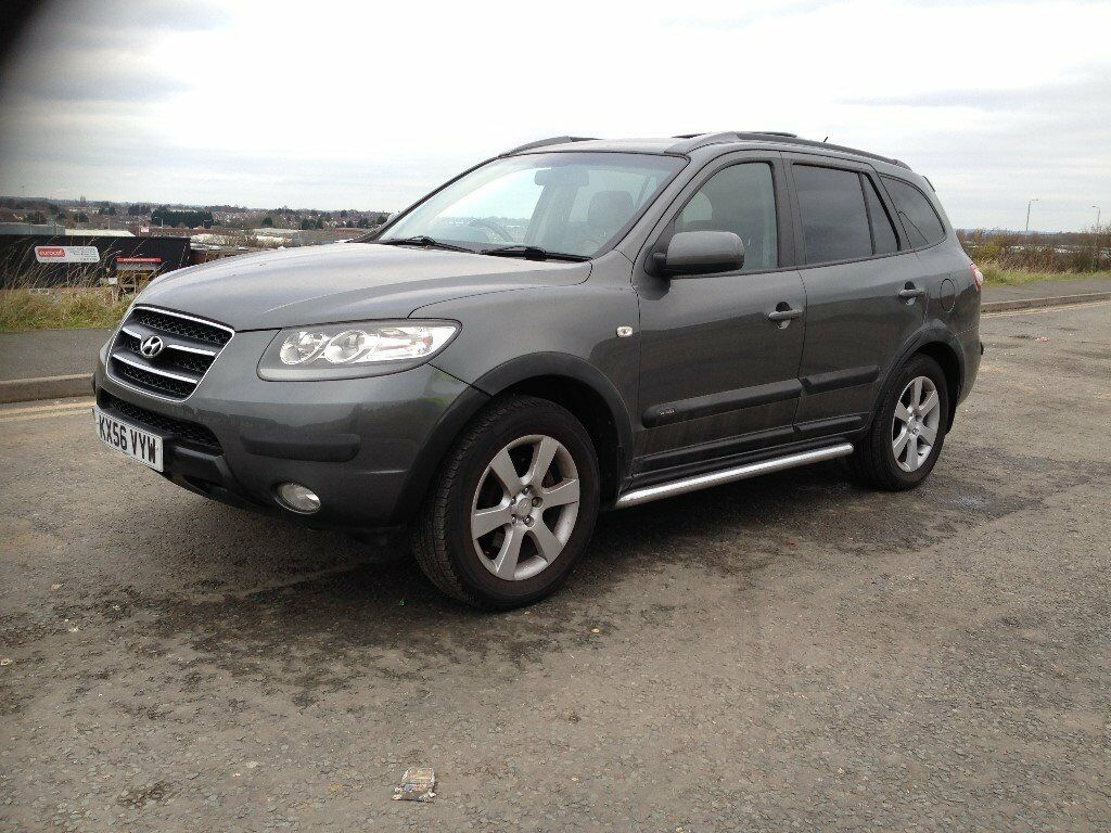 hyundai santa fe 2 2crtd cdx turbo diesel manual 7 seater 4x4 suv full spec in leicester. Black Bedroom Furniture Sets. Home Design Ideas