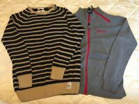 Boys Bench Hoodie and Zara Jumper age 9-10