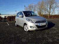 2012 HYUNDAI I10 1.2 PETROL - NEW MOT - NEW CLUTCH - WARRANTY