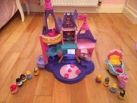 Fisher Price Disney Princess Interactive Castle