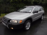 VOLVO XC70 2.4 D5 DIESEL GEARTRONIC SE AUTOMATIC 4X4 AWD. FULL YEAR MOT. LOW MILES