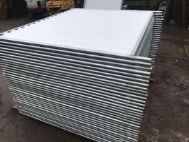 🚧 Temporary Solid Site Hoarding Fencing Panels ~ Like New