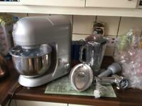 Andrew James Stand Mixer with various attachments