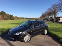 2004/53 PEUGEOT 206SW 1.4 DIESEL, MANUAL, ESTATE***FULL SERVICE HISTORY**NEW MOT***£30-A-YEAR-TO-TAX