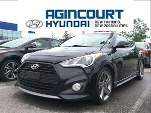 2013 Hyundai Veloster Turbo/NAVI/LEATHER/PANO ROOF/OFF LEASE