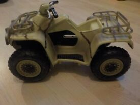 Quad Bike - My Son used this for his Action Men - Collect PE27