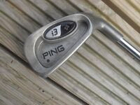 Ping i3 - number 4 iron - righthanded - Mens standard spec Ping steel flex stiff shaft