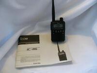 Icom IC-R6 Radio Reciever Air-Ham-Marine-etc with extras can deliver